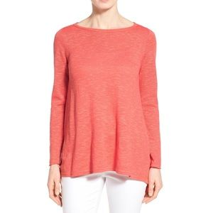 Eileen Fisher Organic Linen Sweater S EUC